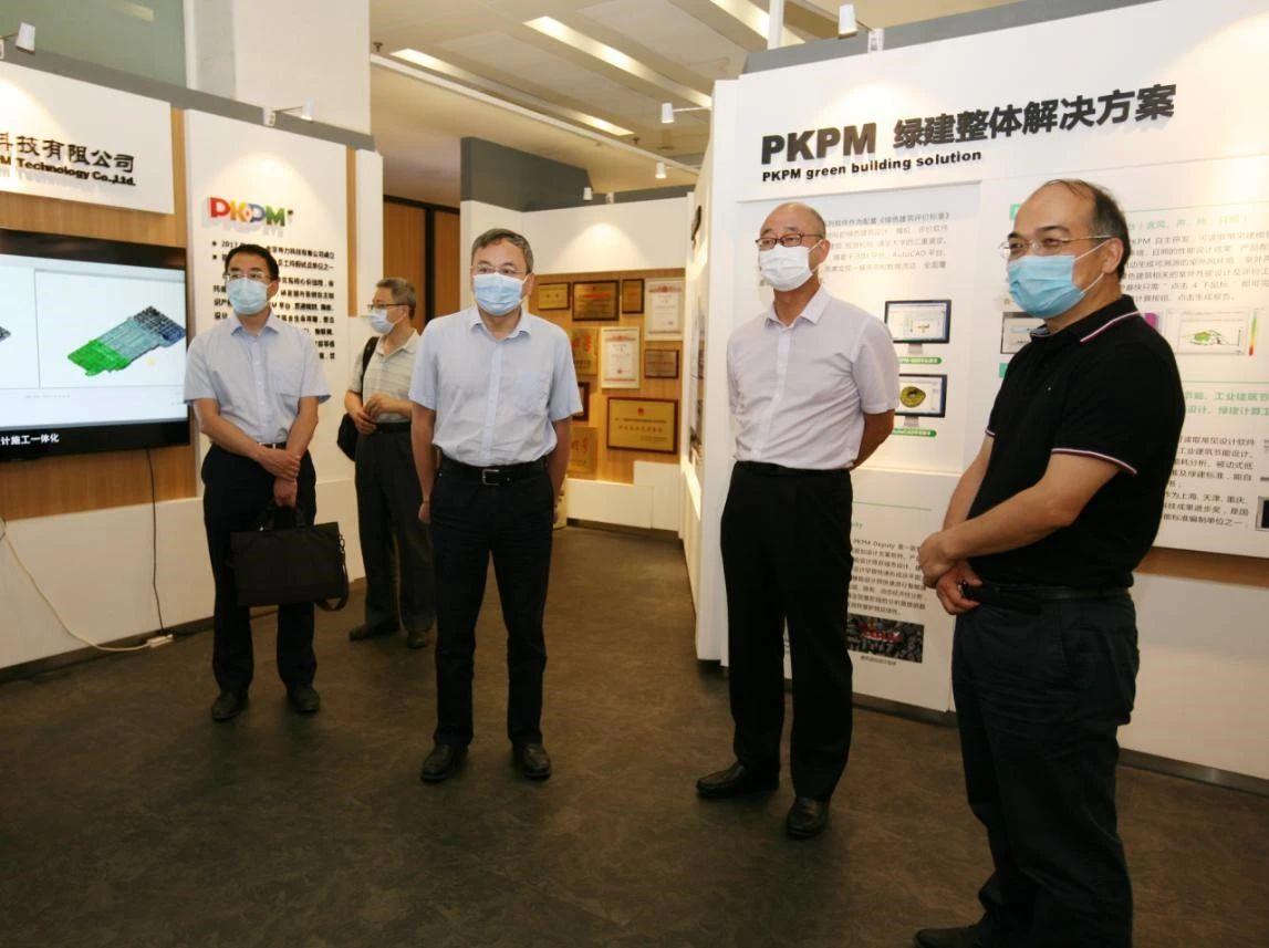 柴旭东赴中国建筑科学研究院进行合作交流